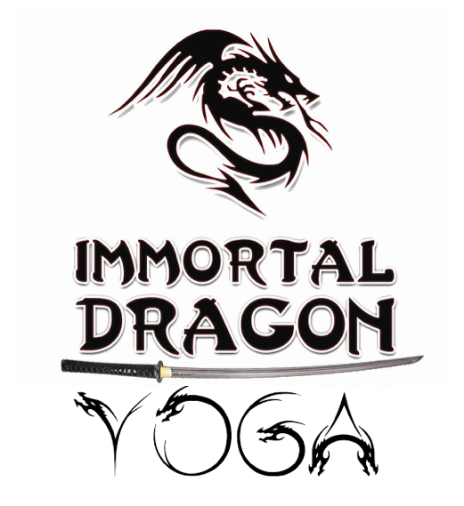 Immortal Dragon Yoga Logo
